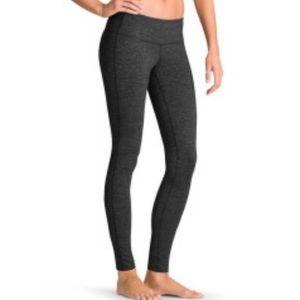 Athleta Chaturanga gray odyssey spacedye legging